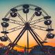 Ferris wheel at sunset - popular park attraction - PhotoDune Item for Sale