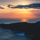 Sunset cloudy sky over the ocean and cliff, Bali - PhotoDune Item for Sale