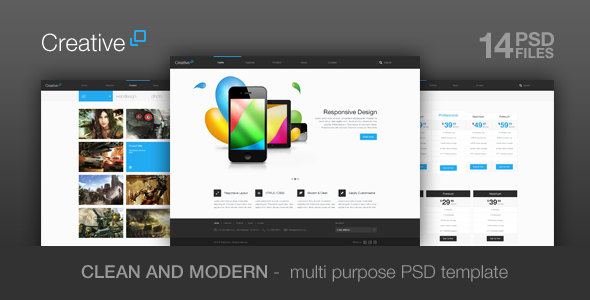 Creative – Multi Purpose PSD Theme