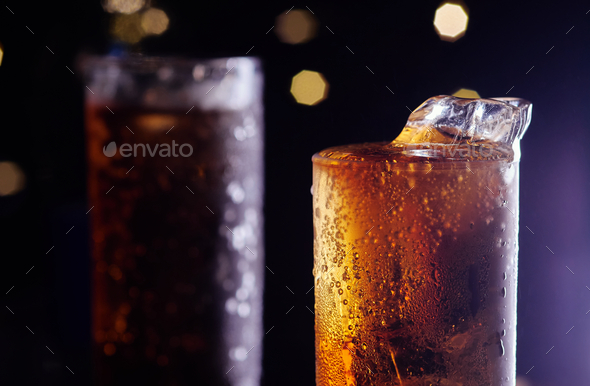 A glass of cold drink - Stock Photo - Images