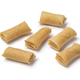 Sumpia cookies, a traditional Indonesian snack on white background - PhotoDune Item for Sale