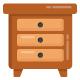100 Flat Furniture Icons