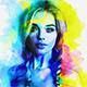 Color MaxArt Oil paint Photoshop Action