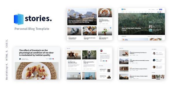 Incredible Stories - Personal Blog React NextJS Template