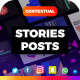 30 Contextual Marketing Instagram Stories and Posts - VideoHive Item for Sale