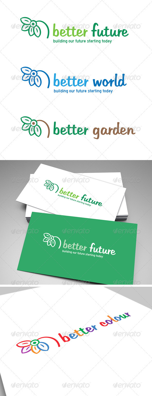 Better Future Logo - Nature Logo Templates
