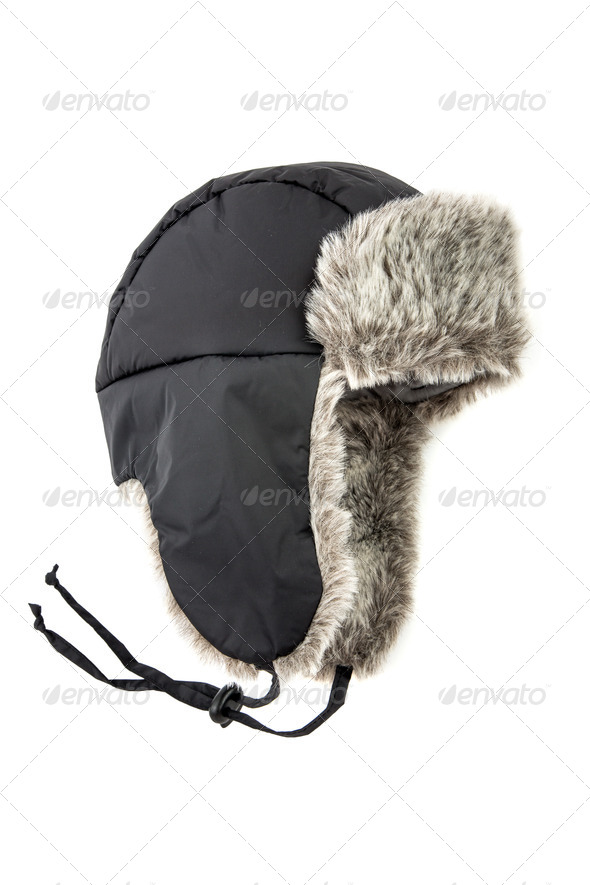 children's fur cap - Stock Photo - Images