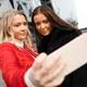 Friends Taking Selfie Through Smartphone In City - PhotoDune Item for Sale