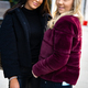 Portrait Of Two Smiling Beautiful Female Friends In City - PhotoDune Item for Sale