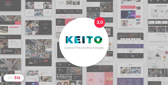 Super Keito - Creative Multipurpose Portfolio Template