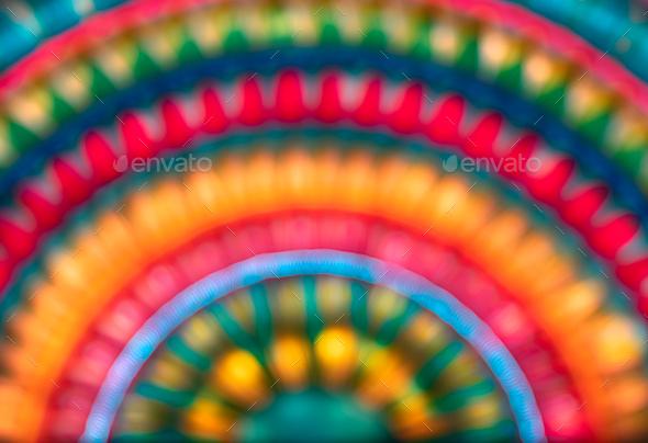 Beautiful Blur Rainbow Background - Stock Photo - Images
