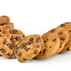 Chocolate chip cookie isolated on white - PhotoDune Item for Sale
