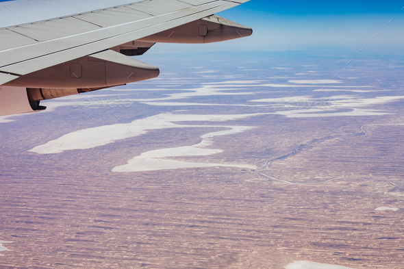 Central Australia Outback Landscape - Stock Photo - Images