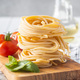Italian pasta nest. Uncooked spaghetti nest. - PhotoDune Item for Sale
