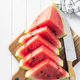 Red sliced watermelon. Pieces of red melon. - PhotoDune Item for Sale