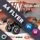 Atv Racing Flyer Templates
