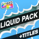 Liquid Elements And Titles | FCPX - VideoHive Item for Sale