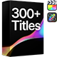 Titles Pro | Final Cut - VideoHive Item for Sale