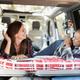 Mature multiracial women having fun inside mini van camper - PhotoDune Item for Sale