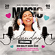 Music Streaming Flyer Template