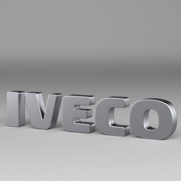 Iveco Logo - 3DOcean Item for Sale