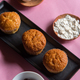 Butter muffins in a tray - PhotoDune Item for Sale