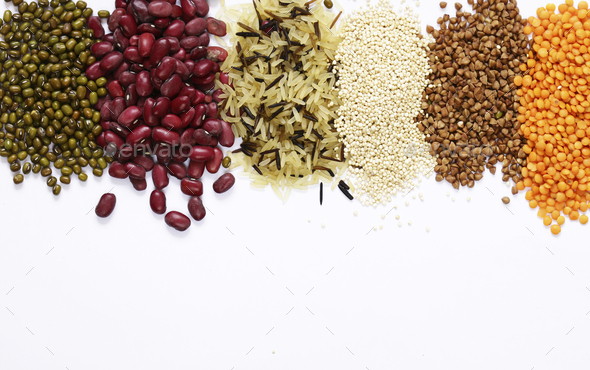 Different Cereals - Stock Photo - Images
