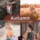 6 Autumn Lightroom Presets