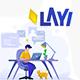LAYI Business and Finance Illustration