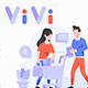 VIVI Vol. II Ecommerce and Shopping Illustration