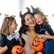 Happy family celebrating Halloween - PhotoDune Item for Sale