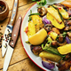 Fried meat with vegetables - PhotoDune Item for Sale