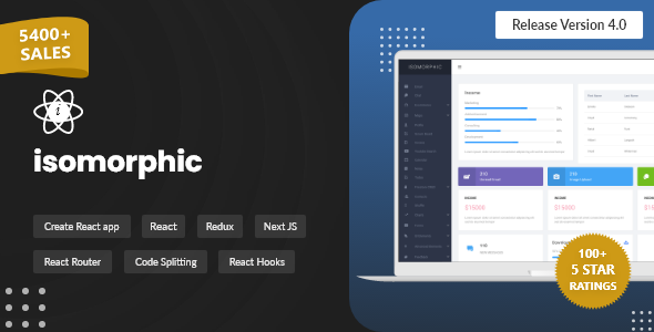 Great Isomorphic - React Admin Template with Redux