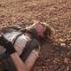 Woman sleeping on the ground - PhotoDune Item for Sale