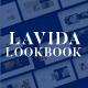 Lavida Minimal Lookbook Powerpoint Template