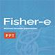 Fisher-e - Modern Business Powerpoint Presentation Template