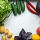 Fresh healthy vegetables for a healthy diet. Healthy food concept - PhotoDune Item for Sale