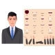 Businessman Mouth Animation Set and Lip Sync with