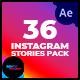 36 Instagram Stories Pack