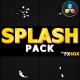 Splash Animated Elements | DaVinci Resolve - VideoHive Item for Sale