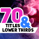 Modern Titles and Lower Thirds Pack - VideoHive Item for Sale