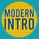 Modern Intro   Colorful Blog Opener