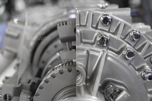 Automatic transmission gearbox - Stock Photo - Images