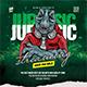 Jurassic Radio Streaming Flyer Template