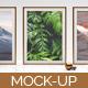 3-Picture Frame Digital Mock-up