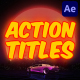 Action Titles | After Effects - VideoHive Item for Sale