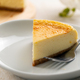 Piece of homemade plain cheesecake - PhotoDune Item for Sale