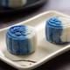 Blue white snowskin moon cake - PhotoDune Item for Sale