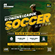 Soccer Event Flyer