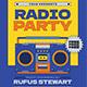 Radio Event Flyer